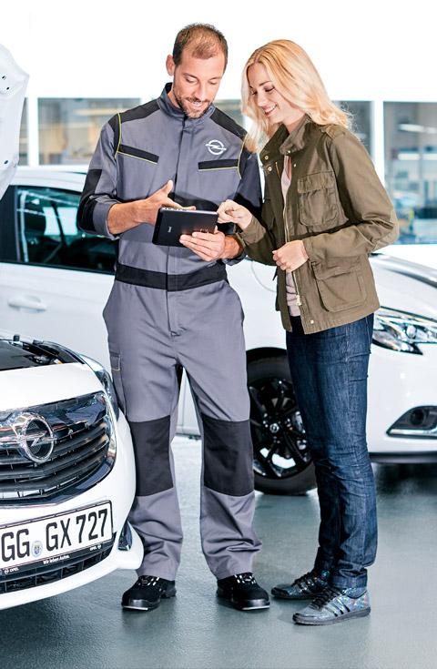 Prodaja in Servis vozil Opel